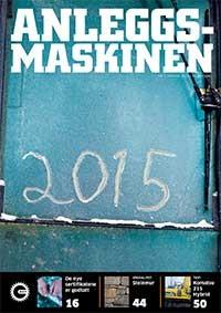 Anleggsmaskinen nr.1 2015