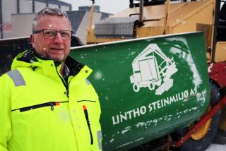 Kjell Lintho er gründer, eier og teknisk sjef i Lintho Steinmiljø, Norges største aktør innen maskinlegging av belegningsstein.