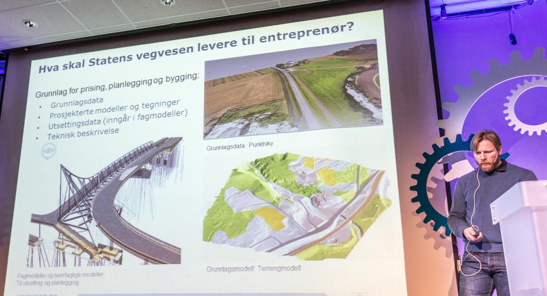 Statens Vegvesens ansvarshaver av håndboken om 3D-modellering
