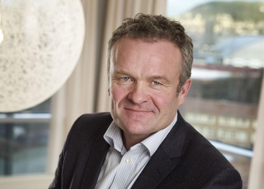 Håkon Tjomsland, administrerende direktør i NCC Construction Norway .