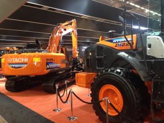 Hitachi ZW 220 hybrid