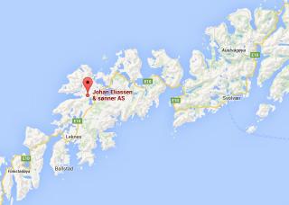 Kart Lofoten