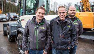 F.v. Bulder-sjef Tore Thunestvedt, Tom Lillestrøm og Truls Østerud.