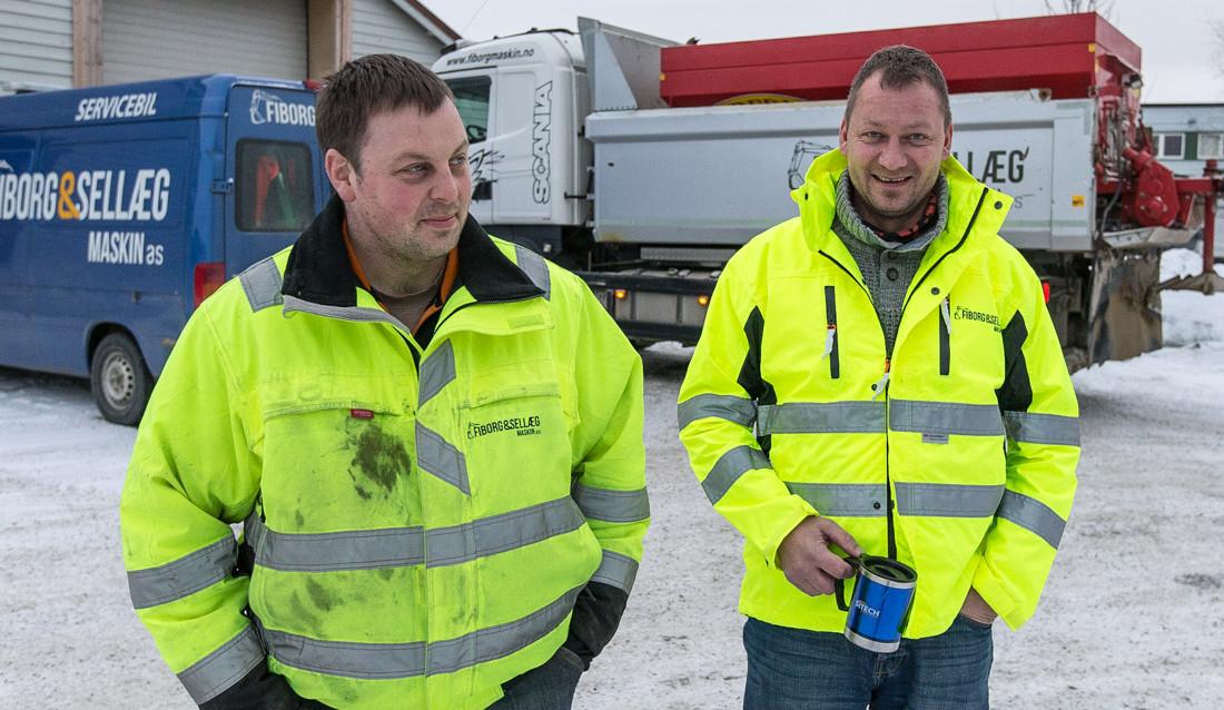 Rune Fiborg (t.v.) og Ronny Berg. (Foto: Jørn Søderholm)