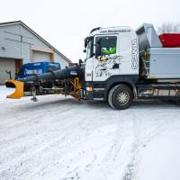Brøytebil Fiborg & Sellæg