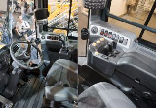 Interiør Hyundai HL hjullastere