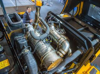 Hyundai hjullaster motor
