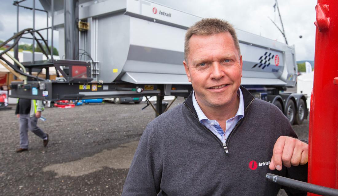Lars Lindskog, daglig leder i Istrail Ulefoss AS.