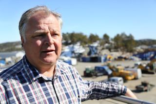 Tom Eikså, daglig leder i TT Anlegg AS. (Foto: Runar F. Daler).