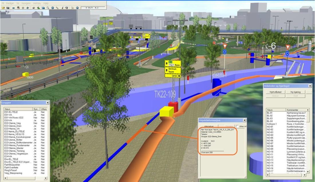 Infrastruktur prosjekteres i Novapoint