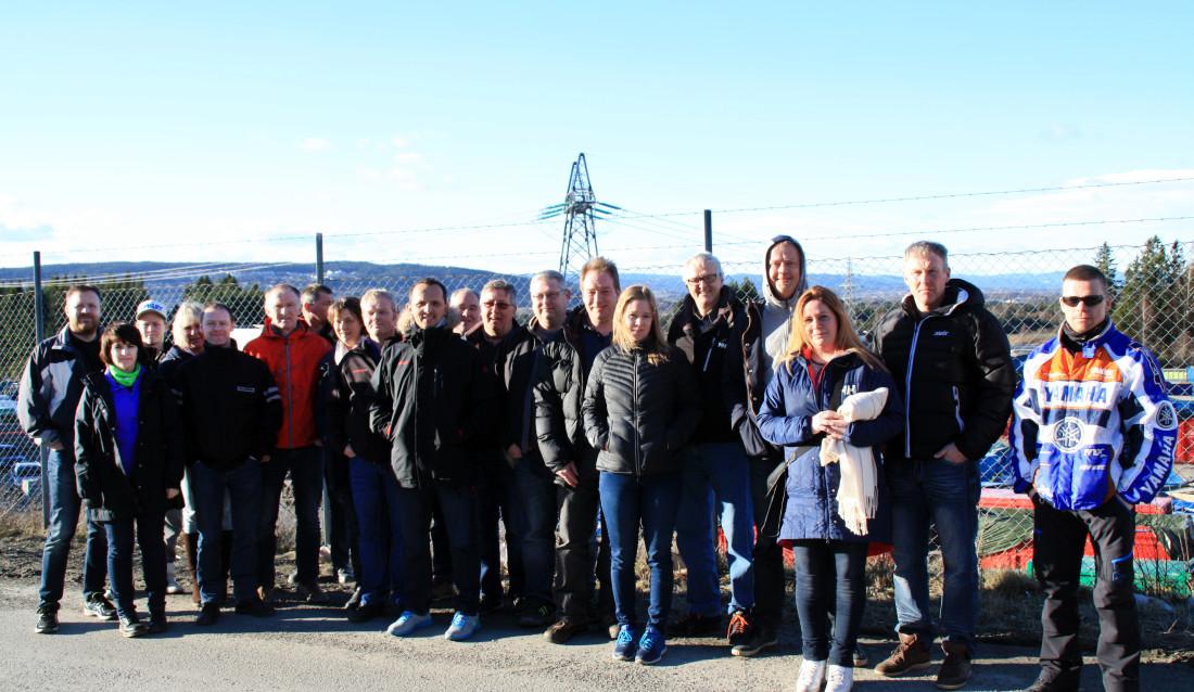 FORRIGE KULL Denne gjengen tok drifts- og mellomlederskolen for avfall- og gjenvinningsbransjen høsten 2014 til våren 2015. (Foto: Sverre Huse-Fagerlie).