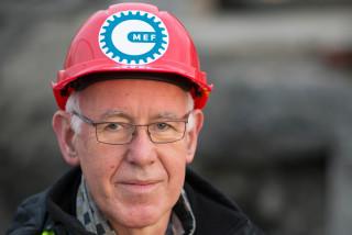 Trond Johannesen, adm. dir. i Maskinentreprenørenes Forbund (MEF).