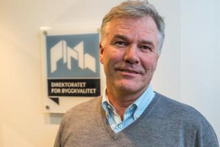 Steinar Fretheim er avdelingsdirektør for sentral godkjenning i Direktoratet for byggkvalitet. (Foto: Jørn Søderholm)