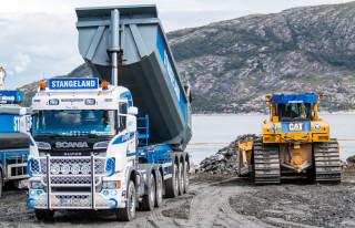 3,5 millioner tonn stein skal fra tunnelen til Jåttåvågen