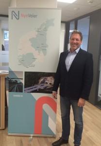 Magne Ramlo er ansatt som prosjektdirektør i Nye Veier.