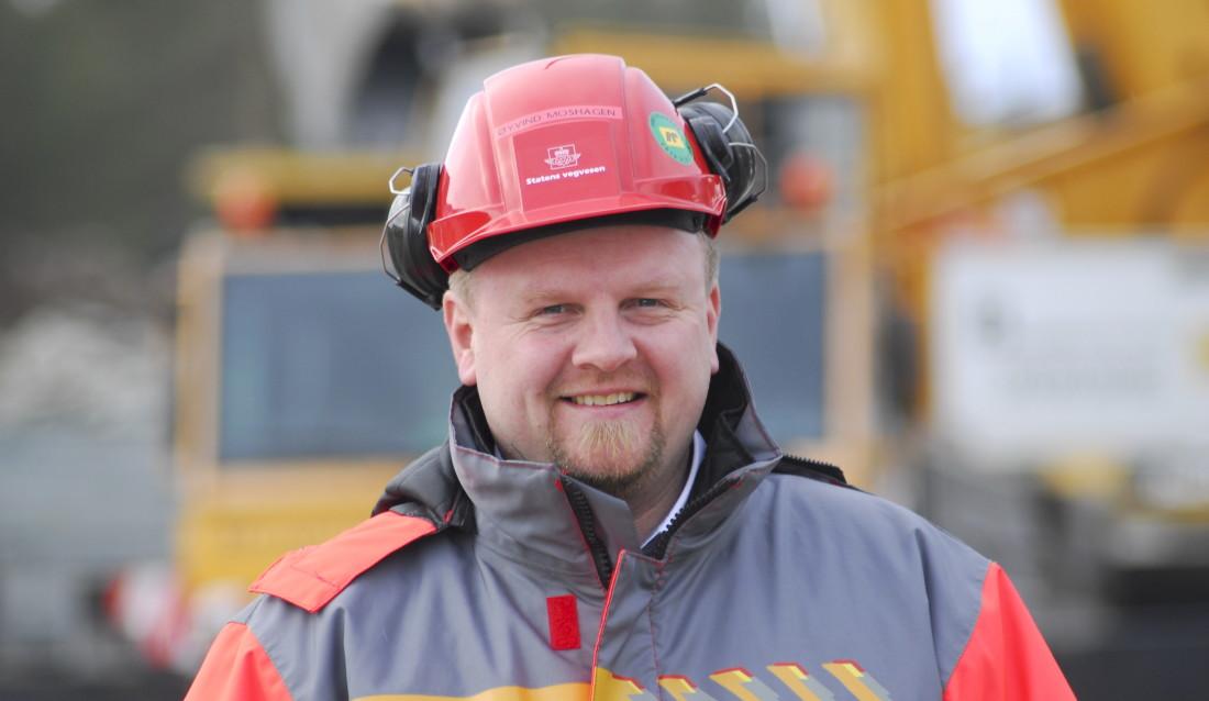 Øyvind Moshagen blir ny prosjektdirektør i Nye Veier AS. Han får ansvar for utbyggingen av E6 Kolomoen-Ensby. (Foto: Nye Veier).