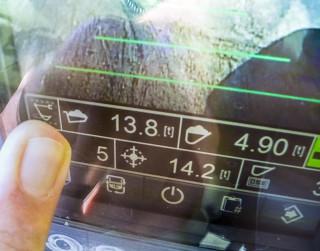 Slik ser CPM ut på førerens display i hytta.