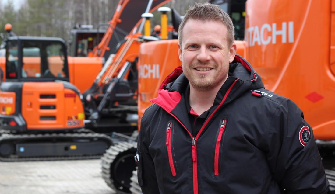 Ny selger i Nasta: Rune Martin Olsen.