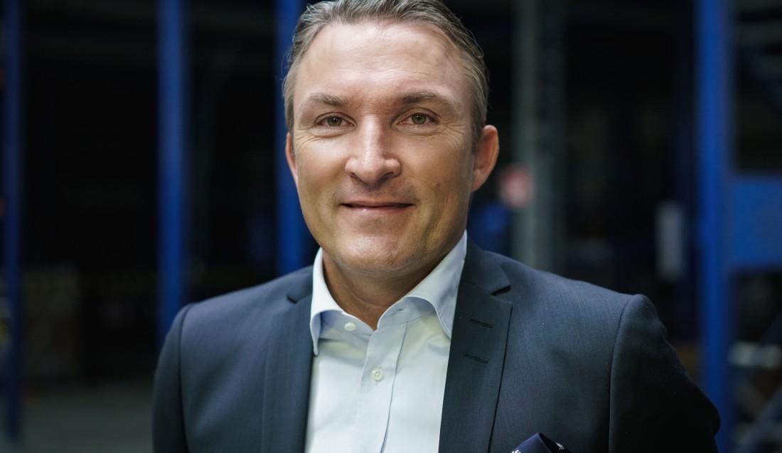 Cramos nye konsernsjef, Leif Gustafsson. (Foto: Matti Sulanto).