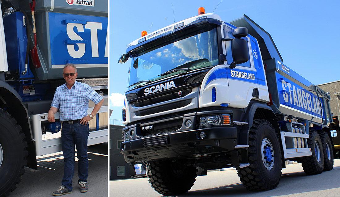Olav Stangelands nye Scania P450