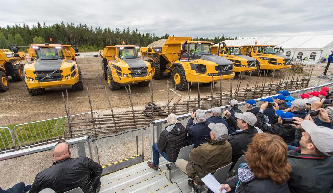 Jubileumsshow Volvo