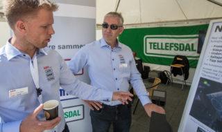 Terje Svendsen og Rune Dalen i Tellefsdal
