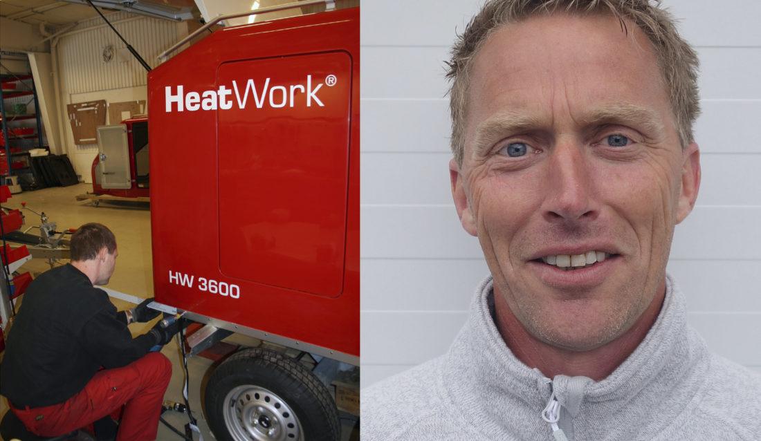 Heatworks nye salgsrepresentant, Pål Tveitan, får ansvar for Buskerud, Vestfold, Telemark og Agder-fylkene.