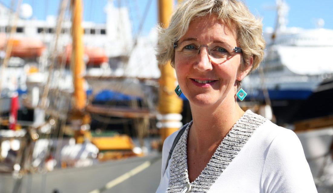 Utbyggingssjef i Nye Veier AS, Tordis Gudrun Vandeskog. (Foto: Runar F. Daler).