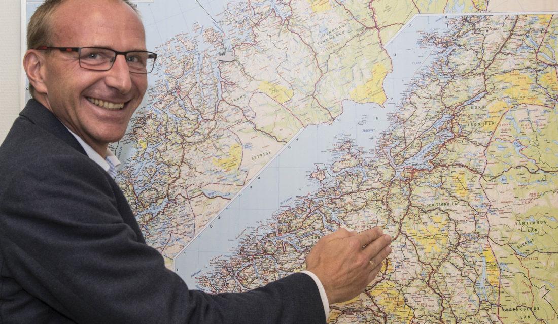 Kjetil Green er ansatt som daglig leder for TESS Logistikk AS. (Foto: TESS)