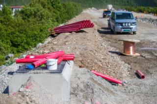 Anlegg Nord AS, RV 94 Skaidi-Arisberg, kabelgrøft