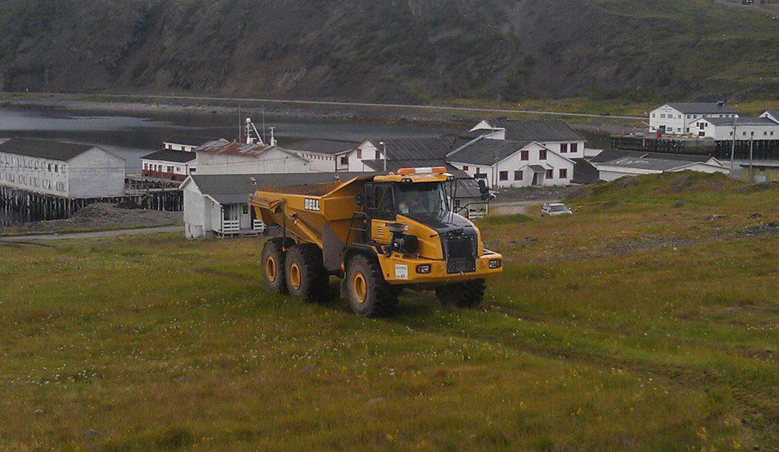 Dumper Arne Pettersen Kongsfjord