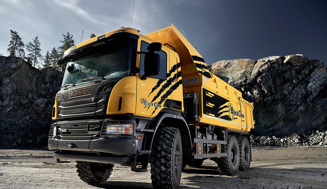Black Claw Scania P400 6x6