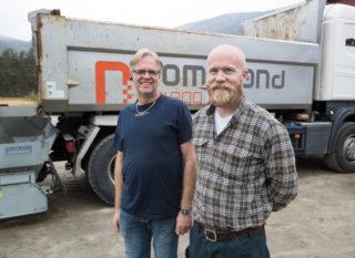 Steinar Nomeland og Hans Olav Omnes