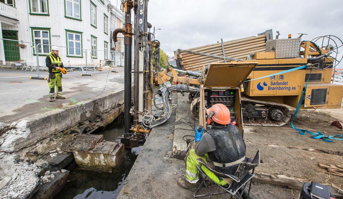 fundamentering Sørlandet brønnboring mistet sentral godkjenning