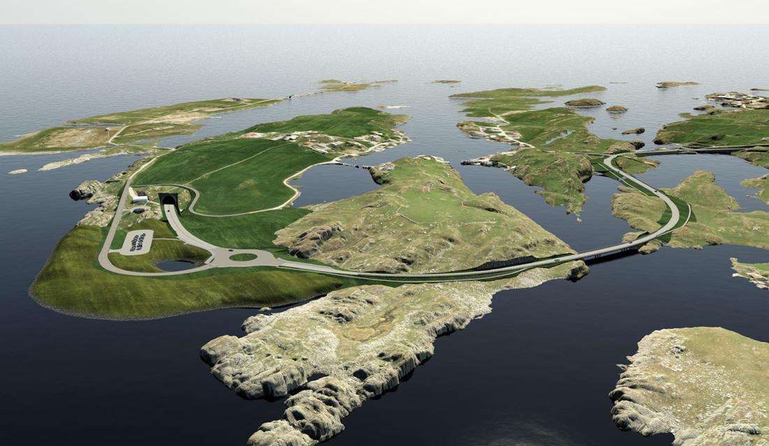 Kvitsøy, ved Krossøy/Hellesøy (Ill: Statens vegvesen/Cowi AS).