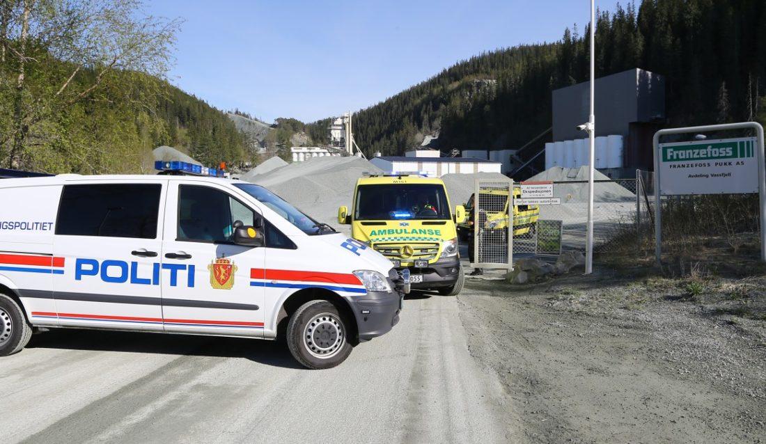 Vassfjell pukkverk - Foto: NRK