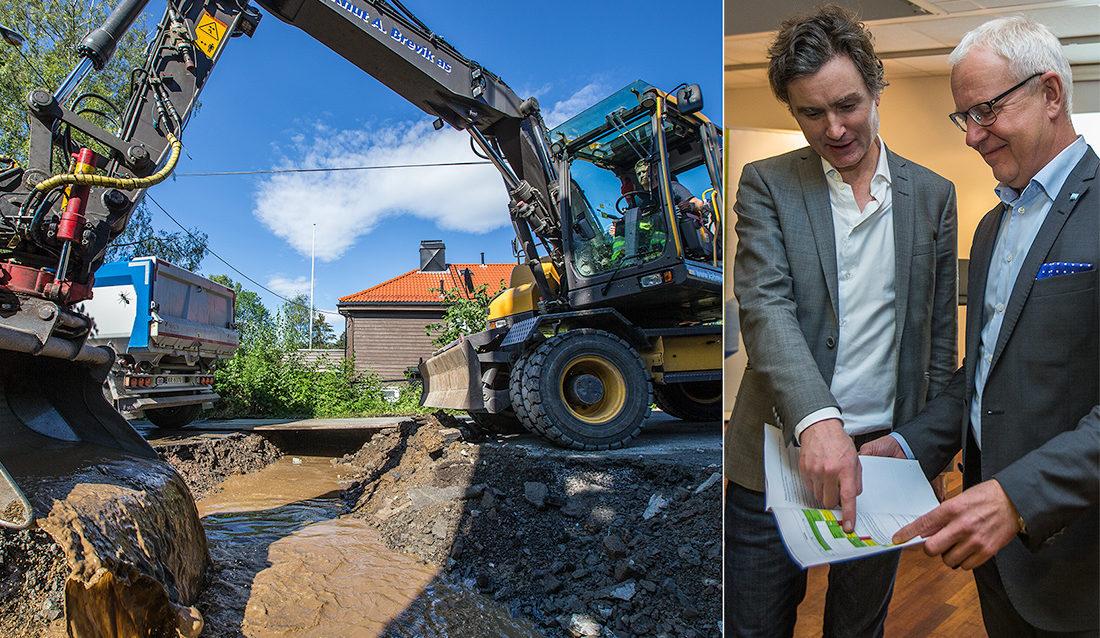 gravemaskin, Finn N. Bangsund, Steinar Andersen