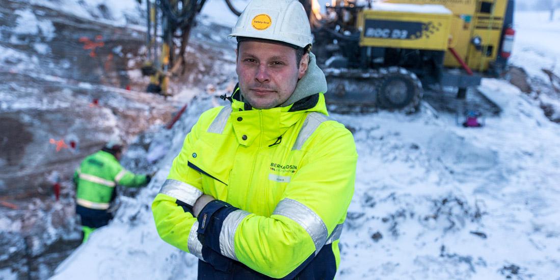 Kristian Bernhardsen rutiner gjengstående sprengstoff
