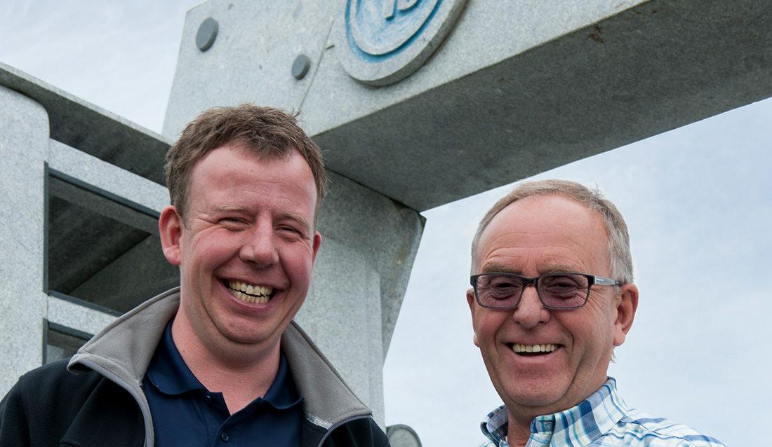 Tommy og Olav Stangeland