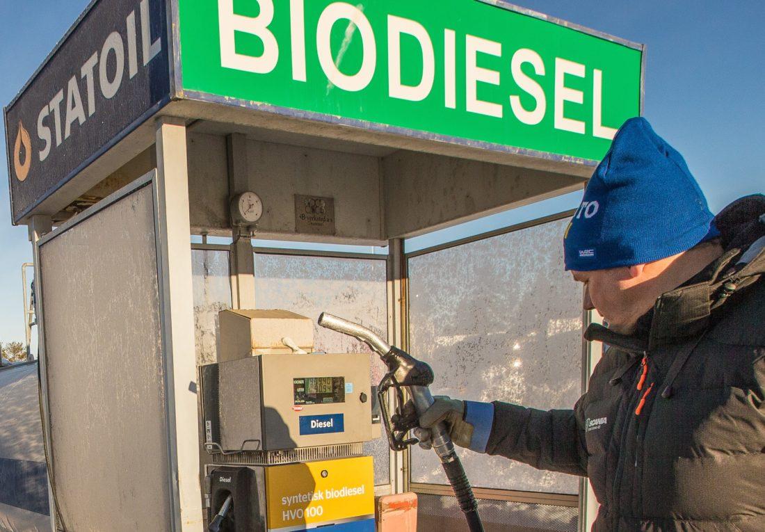 Dersom HVO biodrivstoff skal erstatte anleggsdiesel så vil det gi økte drivstoffkostnader tilsvarende 18,7 milliarder kroner fram mot 2030, ifølge MEFs beregninger. (Foto: Jørn Søderholm).