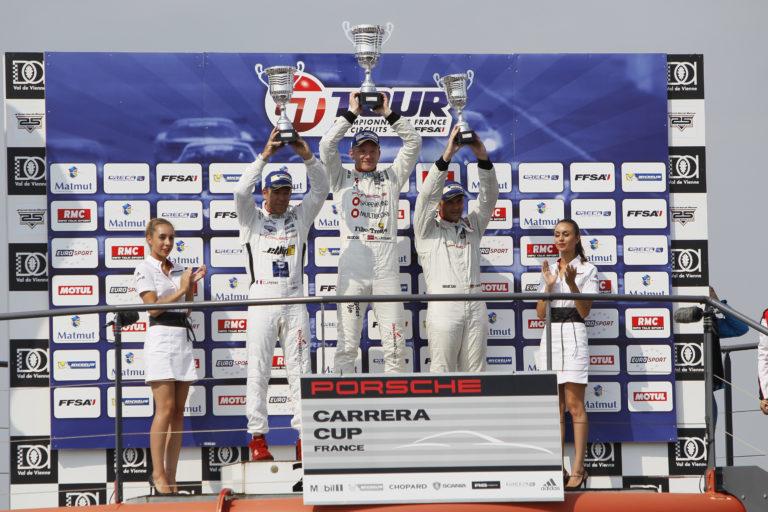 Roar vant klassen sin i den franske Porsche Carrera Cup i 2015. (Privat foto).
