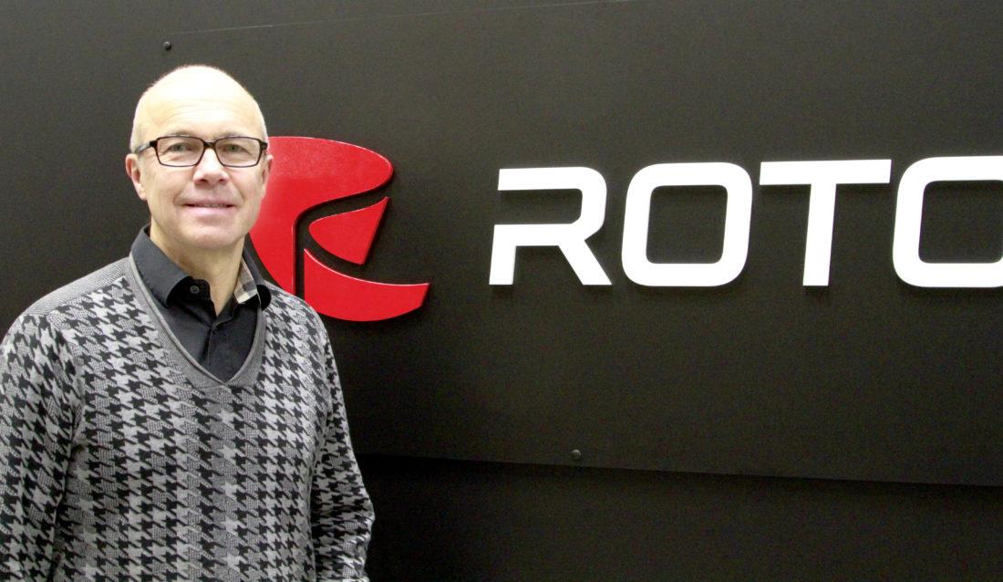 Anders Jonsson, administrerende direktør i Rototilt Group AB. (Foto: Rototilt Group).