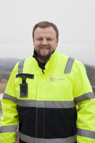 Øyvind Moshagen, prosjektdirektør i Nye Veier. (Foto: Nye Veier).