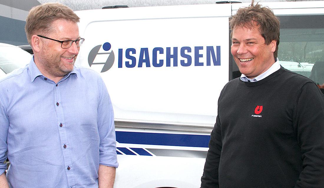 Håvard Kjenseth og Morten Dahl