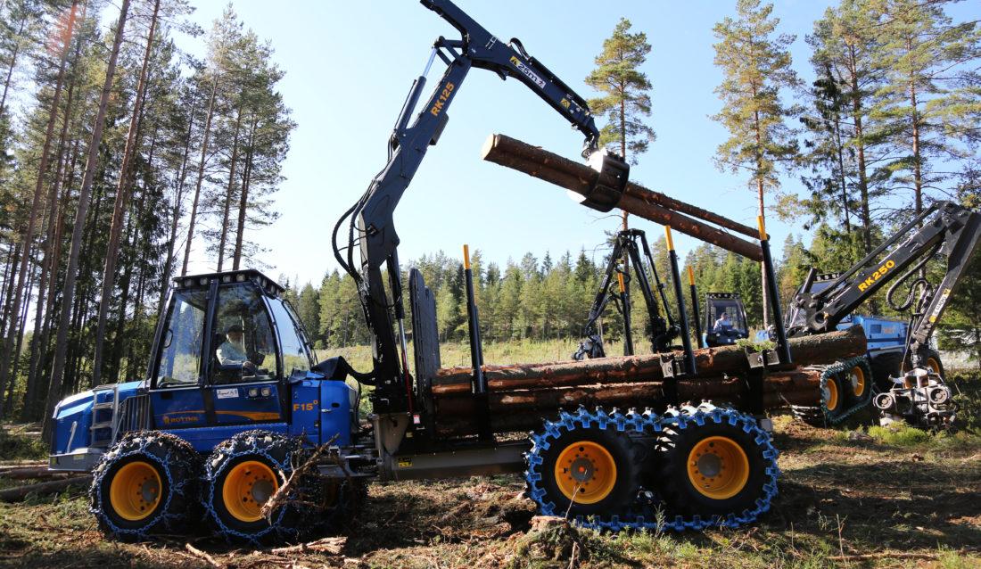 INN I SOLOPPGANGEN: Deltakerne på Skog og Tre 2017 var skjønt enige om at skognæringen ikke er noen solnedgangsindustri. (Foto: Runar F. Daler).