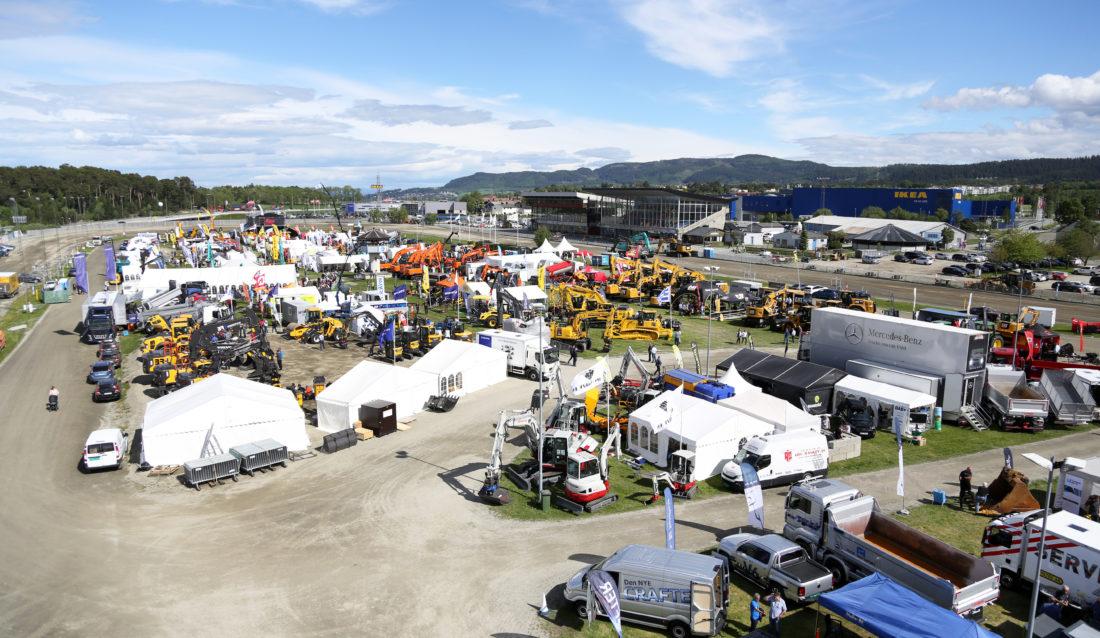 Utstillerområdet på Leangen var 30 prosent større enn i Granåsen for tre år siden. (Foto: Runar F. Daler).