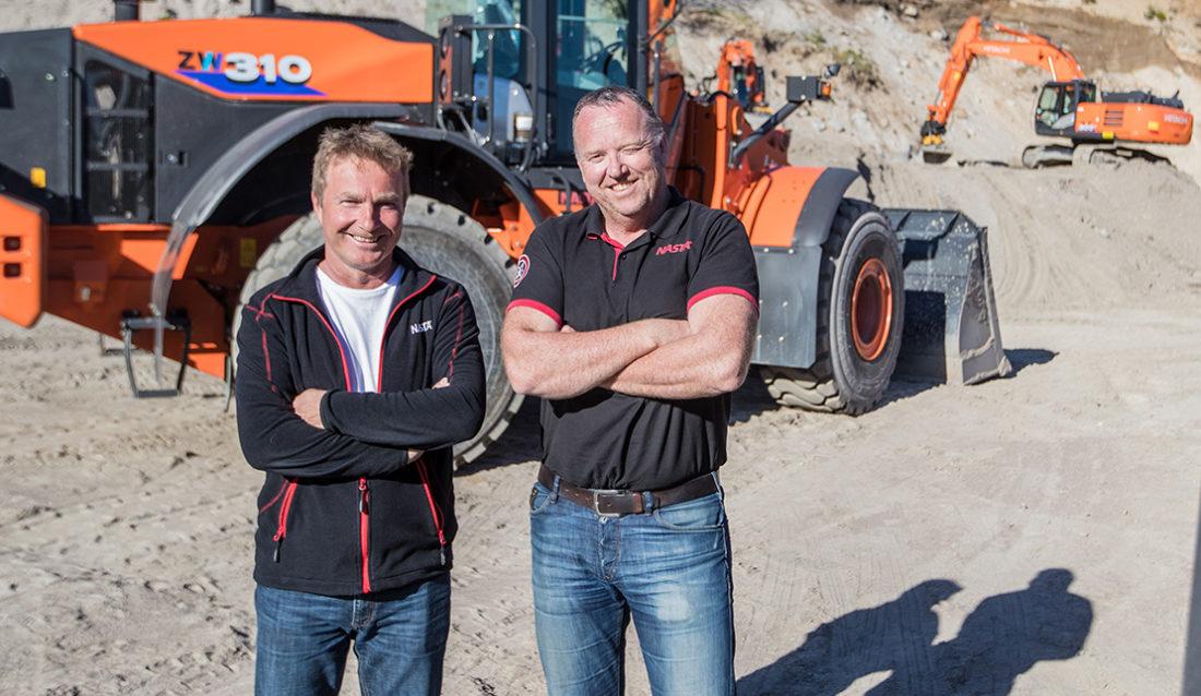 Nasta, Kjell Sørensen (t.v.) og Nils Arve Norendal