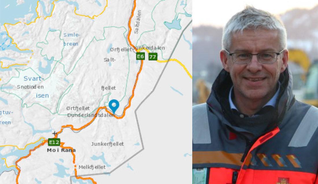 Bård Nyland er prosjektleder for utbyggingsprosjektet E6 Helgeland.