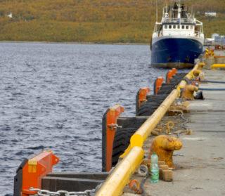 Rehabiliteringen av de tre kaiene i Kirkenes koster 16 millioner kroner. (Foto: Consolvo).