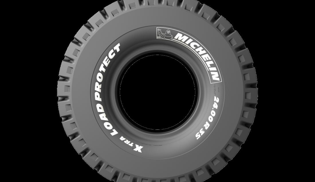 Med de nye dekkene kan man øke lastekapasiteten med opp til ni tonn per maskin, lover Michelin. (Foto: Michelin).